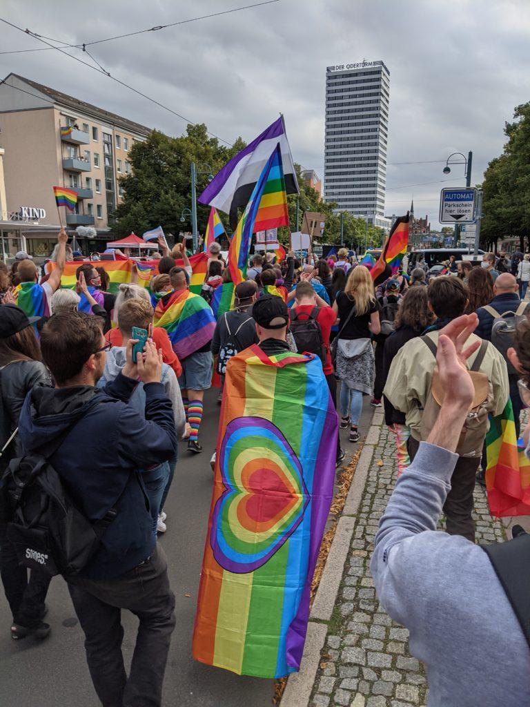der Lesben und Schwulen in der Union (LSU) heiße ich